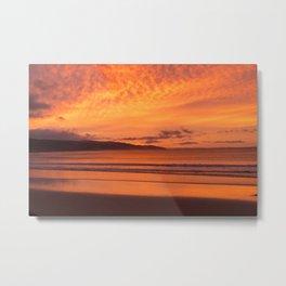 Coastal Sunrise Metal Print