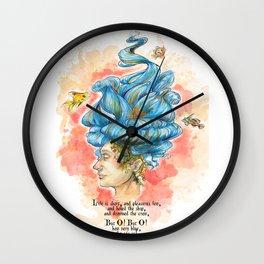The Lady Isabella Wall Clock