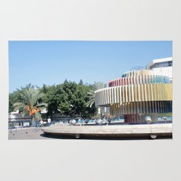 Tel Aviv photo - Dizengoff Square Rug
