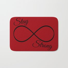 Stay Strong Bath Mat