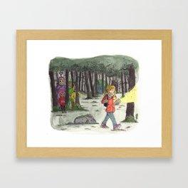 Slendertubbies Framed Art Print