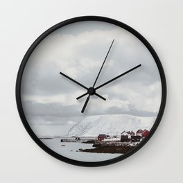 Norway on the road Wall Clock