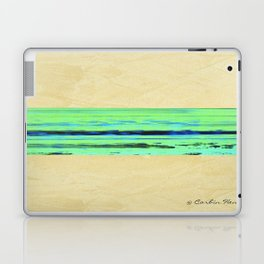 Modern Movement 001 - Signed - Abstract Landscape Canvas Art - Comforters - Bedding - Metal Prints Laptop & iPad Skin