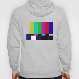 No Signal Television Screen Color Bars Test Hoody