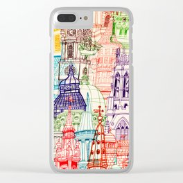 London Towers Clear iPhone Case