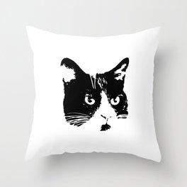 Obey Me Throw Pillow
