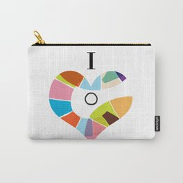 I Heart Coloria Too Carry-All Pouch