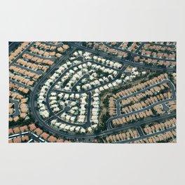 ARCH ABSTRACT 18: Urban sprawl #2, Las Vegas Rug