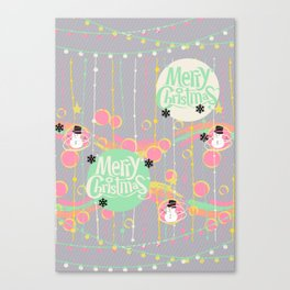 #Merry&Bright2 Canvas Print
