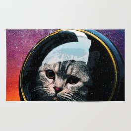 Catstronaut Rug