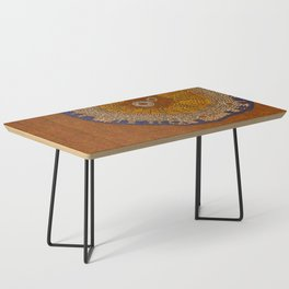 Growing - ginkgo - plant cell embroidery Coffee Table