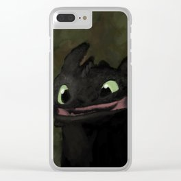 Toothless Grin Clear iPhone Case