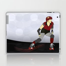 Roller Derby Laptop & iPad Skin