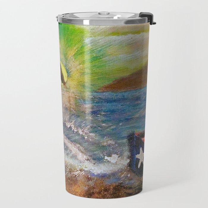 Washed Ashore Travel Mug