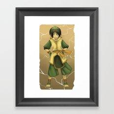 Best Earthbender Framed Art Print