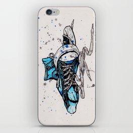 Blue Chucks iPhone Skin