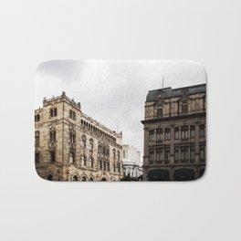 Gloomy Buildings Bath Mat