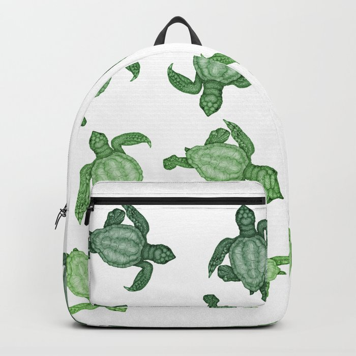 Baby Sea Turtles Backpack