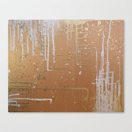 Gilded Gravity Canvas Print