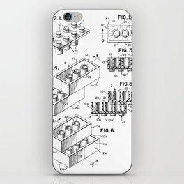 Toy Bricks iPhone Skin