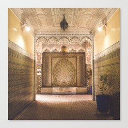 Marrakech Artisan Palace Canvas Print