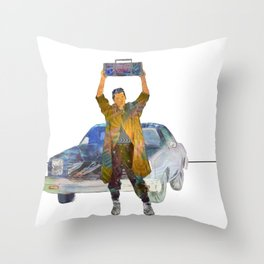Say Anything Lloyd Dobler John Cusack Throw Pillow