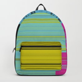 Block Color Transparancy Backpack