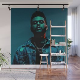 The Weeknd Portrait Wall Mural