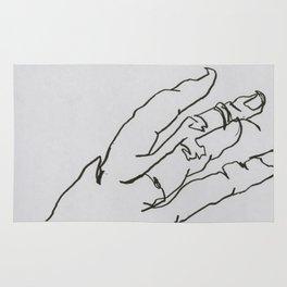 Hand II Rug