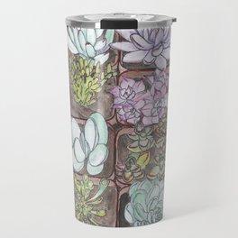Succulents 1 Travel Mug