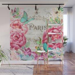 Paris Flower Market II Wall Mural