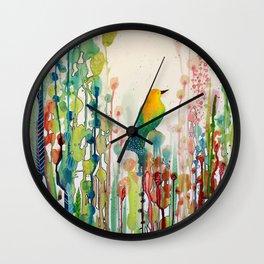 voir le monde autrement Wall Clock