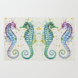 Guardians of the Sea - Natural Rug