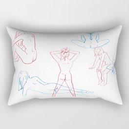 Women Folk Rectangular Pillow