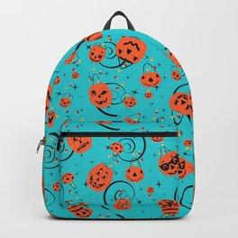 Halloween Magic- Turquoise Backpack