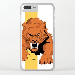 Saber Tooth Clear iPhone Case