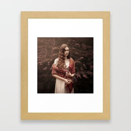 Red Jane Framed Art Print