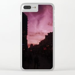 Calm After Mardi Gras Clear iPhone Case