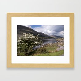 Peaceful afternoon in the Black Valley Framed Art Print