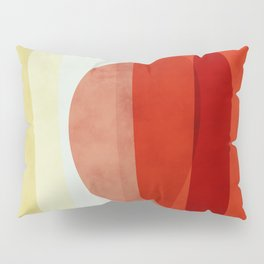 shapes modern abstract Pillow Sham