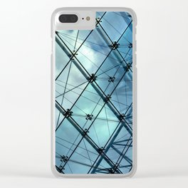 Glass Ceiling VI (Landscape) - Architectural Photography Clear iPhone Case