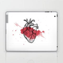 Anatomical heart - Art is Heart  Laptop & iPad Skin