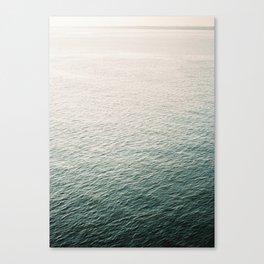 "Coastal beach photography ""Free as the ocean"" | Modern wall Art Sea Ibiza Canvas Print"