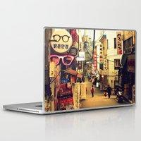 seoul Laptop & iPad Skins featuring Seoul #1 by MysticJin