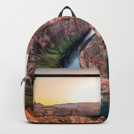 The Bend - Horseshoe Bend During Southwestern Sunset Backpack