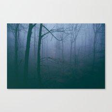 Foggy Mornings Canvas Print