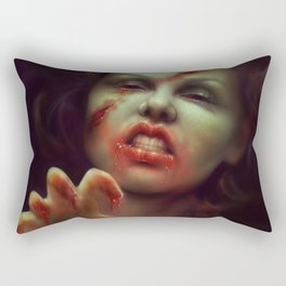 To Die For Rectangular Pillow