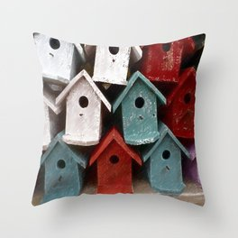 My house is my castle Throw Pillow