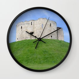 Clifford's tower 2 Wall Clock