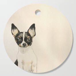 Chihuahua - the tiny dog Cutting Board
